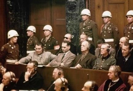 Resultado de imagen para imagenes juicio nuremberg