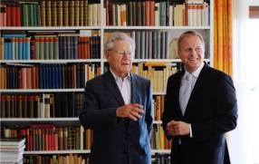 Hans Küng und Claus Dierksmeier