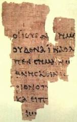 Papiro Rylands p52