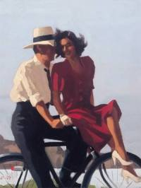 Jack Vettriano, Lazy, Hazy Days.