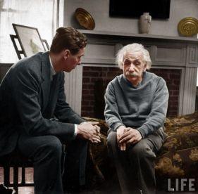 Einstein y psicólogo2