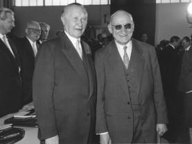 Schuman y Adenauer